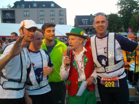 burgemeester of Zele meets team 202