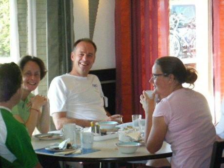 Breakfast in Compiegne