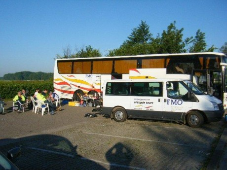 Parked in Numansdorp - final base camp